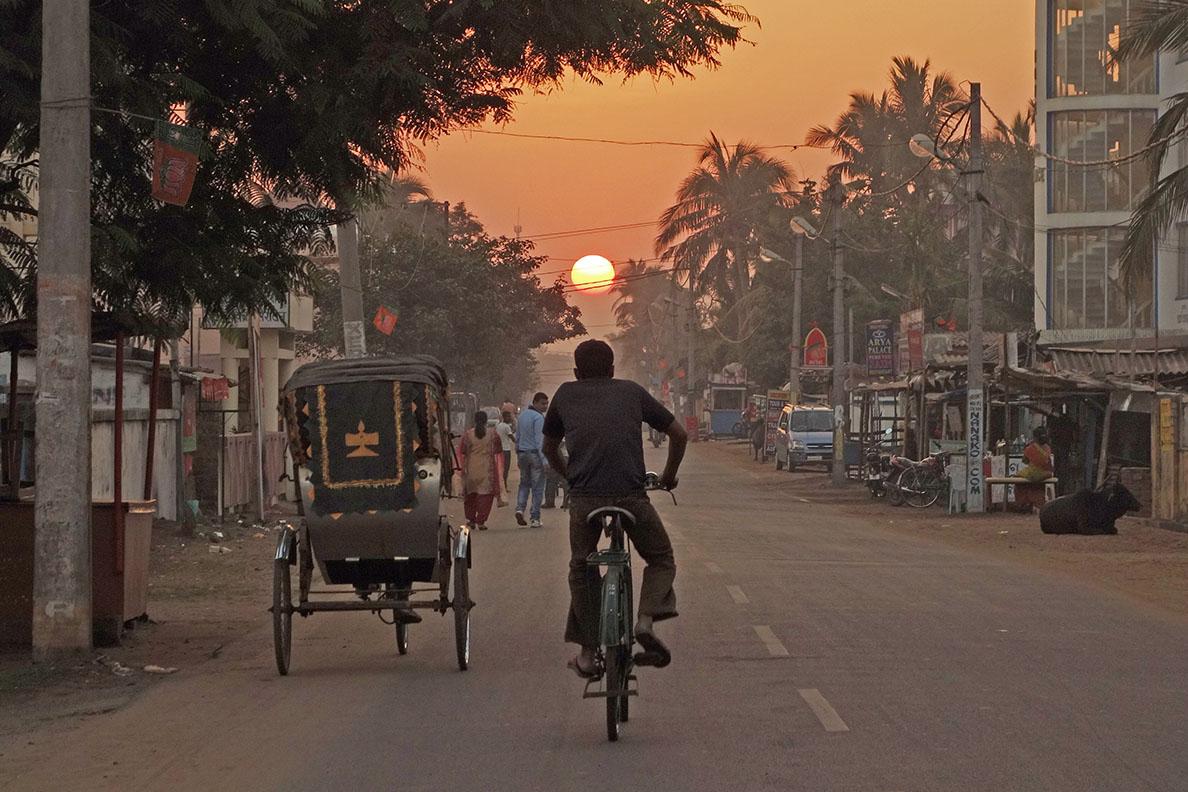 Sunset in Puri