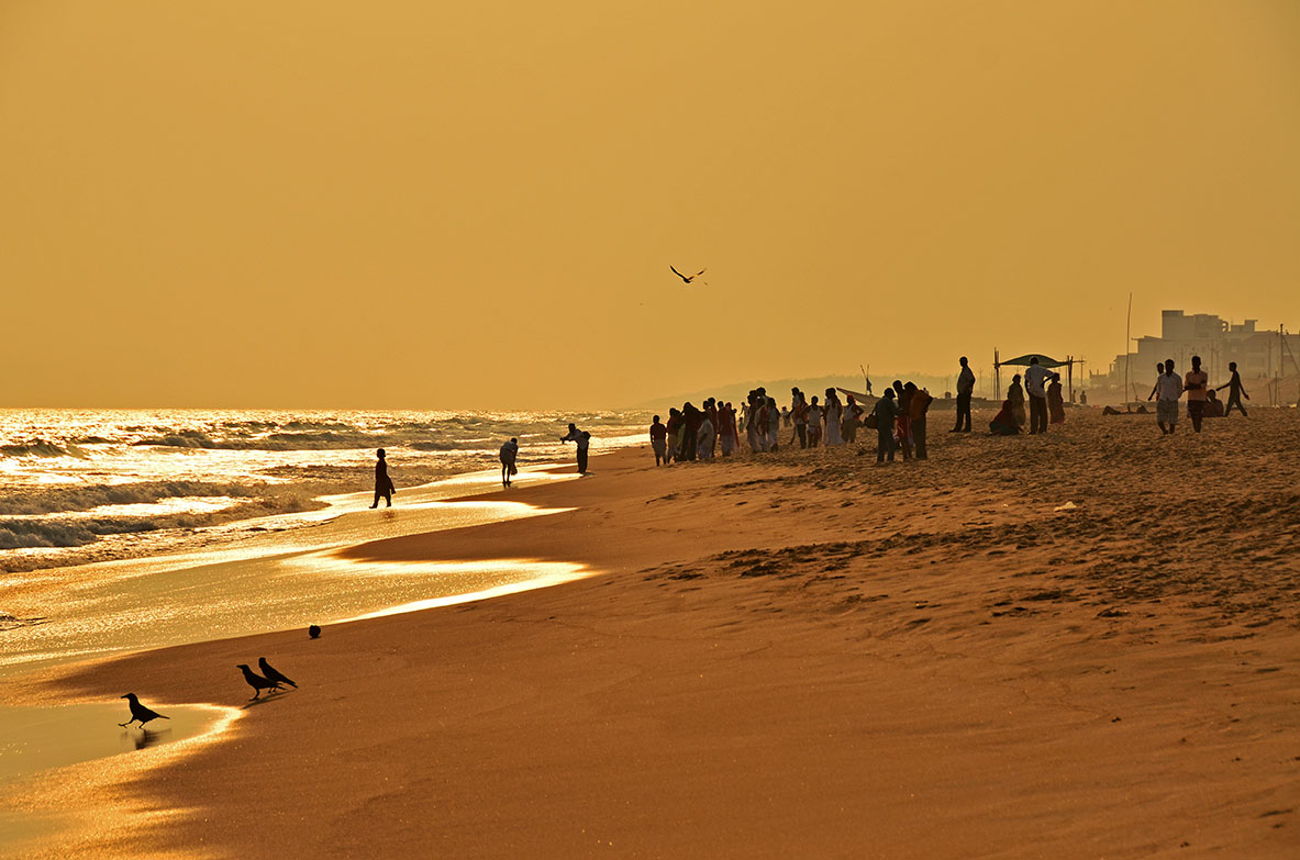 The Beach of Puri