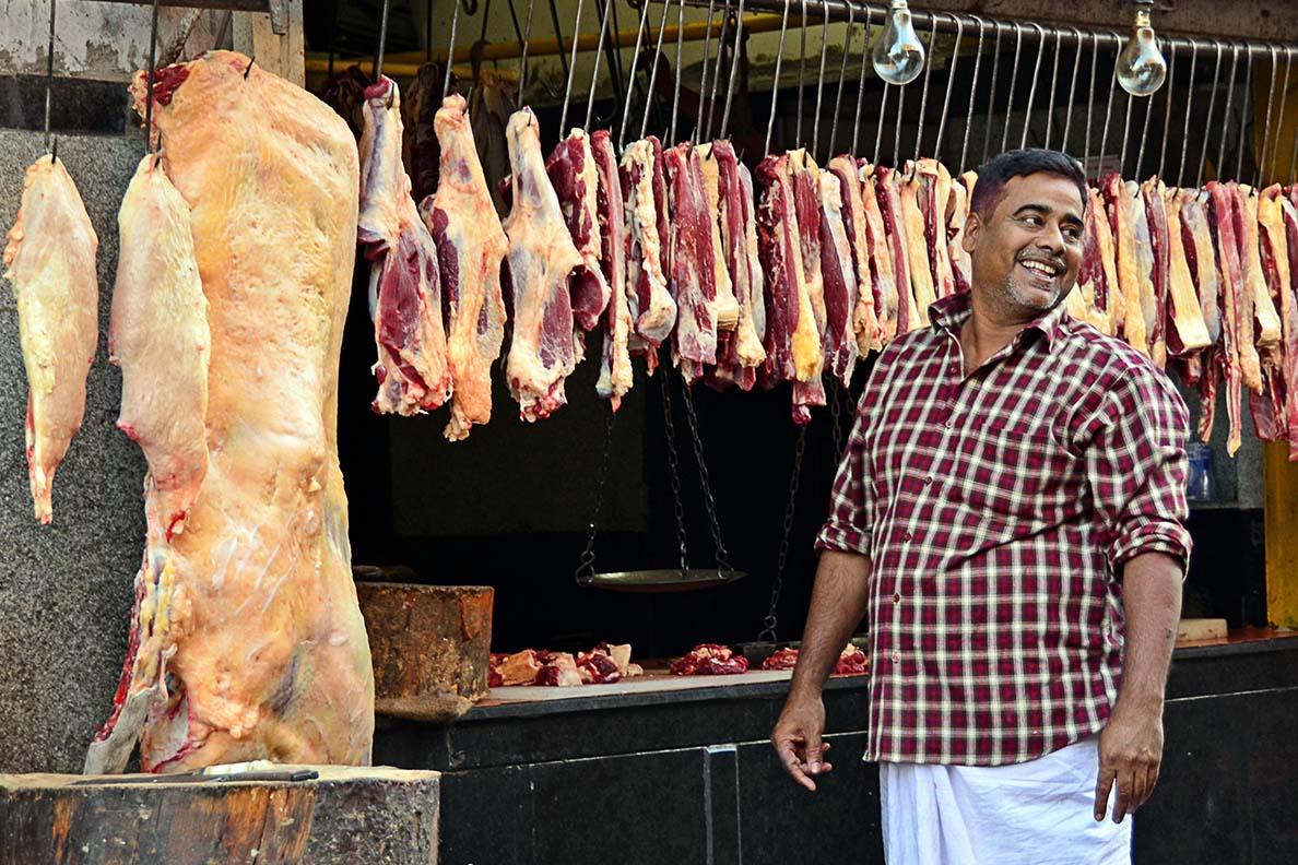 A Butcher in the Sreets of Kolkata
