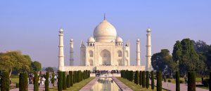 The Taj Mahal, Rajasthan and Gujarat
